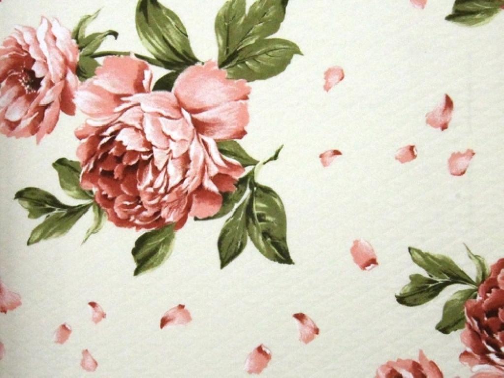 Cretonne fiore provenzale coordinato h 280 cm