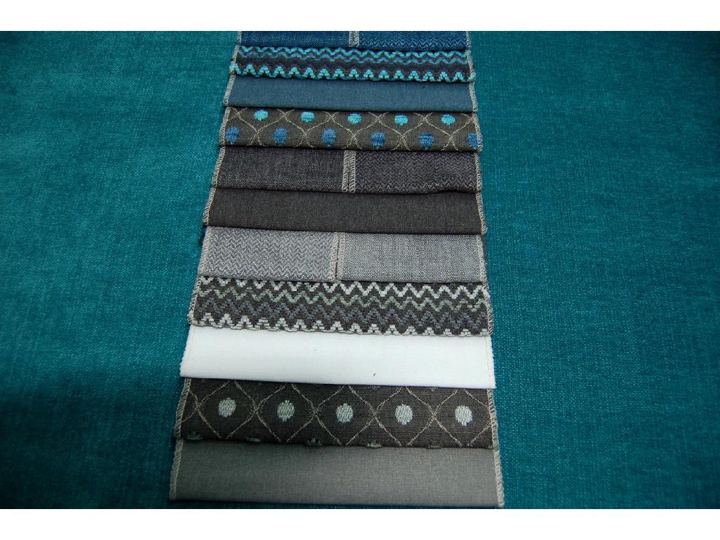 Tinta unita in lino e cotone per tappezzeria coordinata