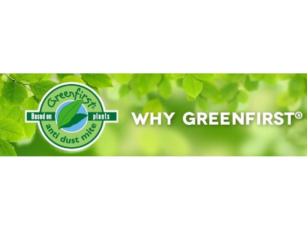 Green First tessuto antiacaro garantito