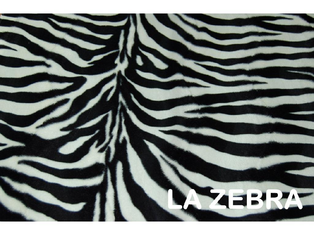 Pellicce ecologiche la zebra